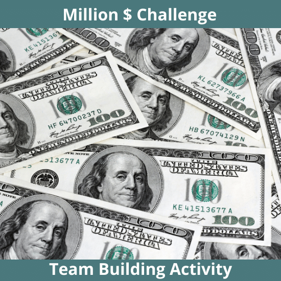 Virtual team building - Million dollar challenge